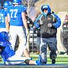 Head Trainer Scott Siddon<br /> <br /> 11/9/19 3:15:16 PM Football:  Bates College v Hamilton College at Steuben Field, Hamilton College, Clinton, NY<br /> <br /> Final:  Bates 26  Hamilton 21<br /> <br /> Photo by Josh McKee