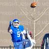 Hamilton College wide receiver Christian Donahoe (5)<br /> <br /> 11/9/19 1:28:44 PM Football:  Bates College v Hamilton College at Steuben Field, Hamilton College, Clinton, NY<br /> <br /> Final:  Bates 26  Hamilton 21<br /> <br /> Photo by Josh McKee