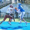 Hamilton College wide receiver Christian Donahoe (5), Touchdown<br /> <br /> 11/9/19 1:30:45 PM Football:  Bates College v Hamilton College at Steuben Field, Hamilton College, Clinton, NY<br /> <br /> Final:  Bates 26  Hamilton 21<br /> <br /> Photo by Josh McKee