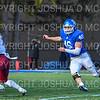 Hamilton College linebacker Pat Morelli (46)<br /> <br /> 11/9/19 3:06:00 PM Football:  Bates College v Hamilton College at Steuben Field, Hamilton College, Clinton, NY<br /> <br /> Final:  Bates 26  Hamilton 21<br /> <br /> Photo by Josh McKee