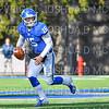 Hamilton College quarterback Kenny Gray (15)<br /> <br /> 11/9/19 1:44:23 PM Football:  Bates College v Hamilton College at Steuben Field, Hamilton College, Clinton, NY<br /> <br /> Final:  Bates 26  Hamilton 21<br /> <br /> Photo by Josh McKee