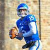 Hamilton College quarterback Kenny Gray (15)<br /> <br /> 11/9/19 2:43:19 PM Football:  Bates College v Hamilton College at Steuben Field, Hamilton College, Clinton, NY<br /> <br /> Final:  Bates 26  Hamilton 21<br /> <br /> Photo by Josh McKee