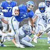 Hamilton College running back Joe Park (7)<br /> <br /> 9/28/19 2:40:45 PM Football:  Colby College v Hamilton College at Steuben Field, Hamilton College, Clinton, NY<br /> <br /> Final:  Colby 24  Hamilton 45<br /> <br /> Photo by Josh McKee