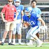 Hamilton College wide receiver Connor Cates (83)<br /> <br /> 9/28/19 1:08:33 PM Football:  Colby College v Hamilton College at Steuben Field, Hamilton College, Clinton, NY<br /> <br /> Final:  Colby 24  Hamilton 45<br /> <br /> Photo by Josh McKee