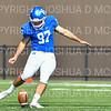 Hamilton College kicker Sam Thoreen (97)<br /> <br /> 9/28/19 12:04:37 PM Football:  Colby College v Hamilton College at Steuben Field, Hamilton College, Clinton, NY<br /> <br /> Final:  Colby 24  Hamilton 45<br /> <br /> Photo by Josh McKee
