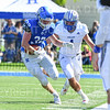 Hamilton College linebacker Mike Cairns (32), Interception<br /> <br /> 9/28/19 1:23:56 PM Football:  Colby College v Hamilton College at Steuben Field, Hamilton College, Clinton, NY<br /> <br /> Final:  Colby 24  Hamilton 45<br /> <br /> Photo by Josh McKee