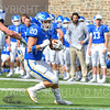 Hamilton College running back Zach Weinstein (20)<br /> <br /> 9/28/19 2:55:04 PM Football:  Colby College v Hamilton College at Steuben Field, Hamilton College, Clinton, NY<br /> <br /> Final:  Colby 24  Hamilton 45<br /> <br /> Photo by Josh McKee