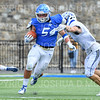 Hamilton College linebacker Sam Ratcliffe (54)<br /> <br /> 9/28/19 2:11:36 PM Football:  Colby College v Hamilton College at Steuben Field, Hamilton College, Clinton, NY<br /> <br /> Final:  Colby 24  Hamilton 45<br /> <br /> Photo by Josh McKee