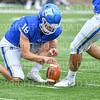Hamilton College wide receiver Will Budington (18)<br /> <br /> 9/28/19 2:25:15 PM Football:  Colby College v Hamilton College at Steuben Field, Hamilton College, Clinton, NY<br /> <br /> Final:  Colby 24  Hamilton 45<br /> <br /> Photo by Josh McKee
