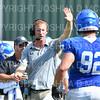 Hamilton College Assistant Coach<br /> <br /> 9/28/19 1:18:13 PM Football:  Colby College v Hamilton College at Steuben Field, Hamilton College, Clinton, NY<br /> <br /> Final:  Colby 24  Hamilton 45<br /> <br /> Photo by Josh McKee