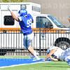Hamilton College defensive lineman Alex Ganter (99), TOUCHDOWN<br /> <br /> 9/28/19 1:19:08 PM Football:  Colby College v Hamilton College at Steuben Field, Hamilton College, Clinton, NY<br /> <br /> Final:  Colby 24  Hamilton 45<br /> <br /> Photo by Josh McKee