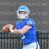 Hamilton College quarterback Gus Mahler (19)<br /> <br /> 9/28/19 11:09:19 AM Football:  Colby College v Hamilton College at Steuben Field, Hamilton College, Clinton, NY<br /> <br /> Final:  Colby 24  Hamilton 45<br /> <br /> Photo by Josh McKee