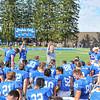 Hamilton College head coach Dave Murray, Team<br /> <br /> 9/28/19 2:59:33 PM Football:  Colby College v Hamilton College at Steuben Field, Hamilton College, Clinton, NY<br /> <br /> Final:  Colby 24  Hamilton 45<br /> <br /> Photo by Josh McKee