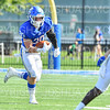 Hamilton College running back David Kagan (30)<br /> <br /> 9/28/19 1:24:48 PM Football:  Colby College v Hamilton College at Steuben Field, Hamilton College, Clinton, NY<br /> <br /> Final:  Colby 24  Hamilton 45<br /> <br /> Photo by Josh McKee