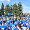 Hamilton College head coach Dave Murray, Team<br /> <br /> 9/28/19 2:59:15 PM Football:  Colby College v Hamilton College at Steuben Field, Hamilton College, Clinton, NY<br /> <br /> Final:  Colby 24  Hamilton 45<br /> <br /> Photo by Josh McKee