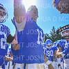 Hamilton College quarterback Kenny Gray (15), Team<br /> <br /> 9/21/19 12:23:27 PM Football:  Wesleyan University v Hamilton College at Steuben Field, Hamilton College, Clinton, NY<br /> <br /> Final:  Wesleyan 28   Hamilton 10<br /> <br /> Photo by Josh McKee