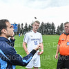 Hamilton College B Luke Eckels (16)<br /> <br /> 9/7/19 1:21:59 PM Men's Soccer: Bates College v Hamilton College at Love Field, Hamilton College, Clinton, NY<br /> <br /> Final: Bates 3   Hamilton 1<br /> <br /> Photo by Josh McKee