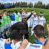 Team, Hamilton College head coach Perry Nizzi<br /> <br /> 9/7/19 1:31:04 PM Men's Soccer: Bates College v Hamilton College at Love Field, Hamilton College, Clinton, NY<br /> <br /> Final: Bates 3   Hamilton 1<br /> <br /> Photo by Josh McKee