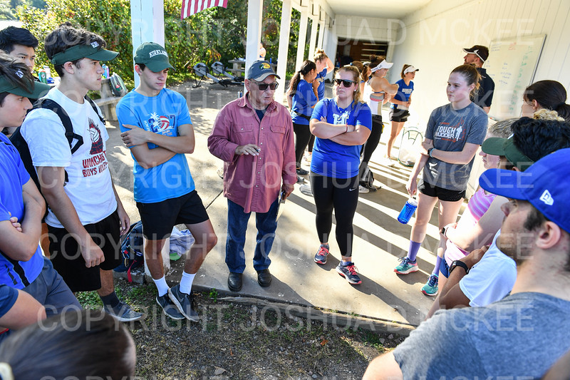 9/16/19 4:37:13 PM Hamilton College Rowing at the Rome Boathouse on the Erie Canal in Rome, NY<br /> <br /> Photo by Josh McKee