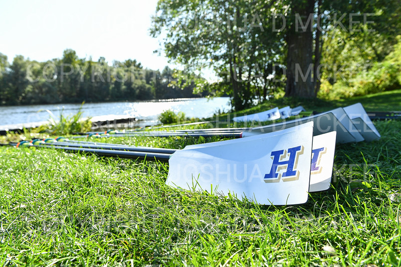 9/16/19 4:19:43 PM Hamilton College Rowing at the Rome Boathouse on the Erie Canal in Rome, NY<br /> <br /> Photo by Josh McKee