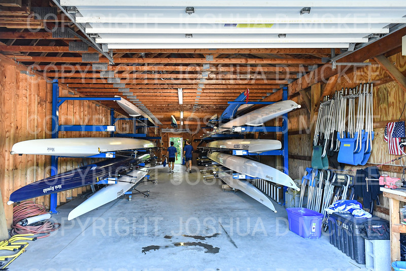 9/16/19 4:37:56 PM Hamilton College Rowing at the Rome Boathouse on the Erie Canal in Rome, NY<br /> <br /> Photo by Josh McKee