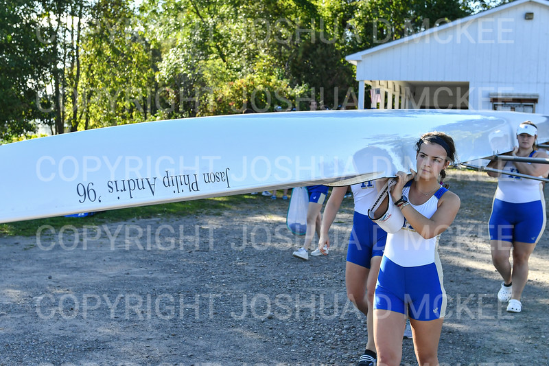 9/16/19 4:50:50 PM Hamilton College Rowing at the Rome Boathouse on the Erie Canal in Rome, NY<br /> <br /> Photo by Josh McKee