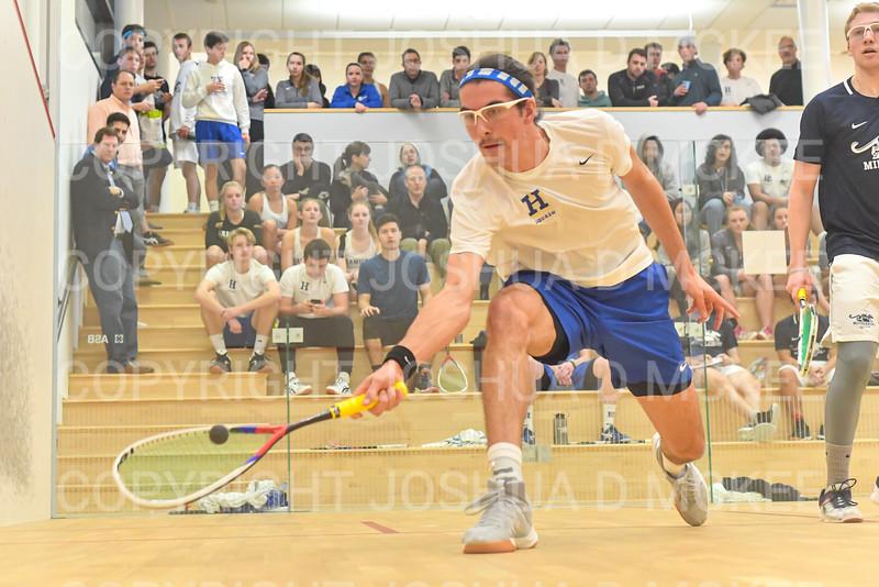 11/16/19 4:54:39 PM Squash:  Middlebury College v Hamilton College at Little Squash Center, Hamilton College, Clinton, NY<br /> <br /> Photo by Josh McKee
