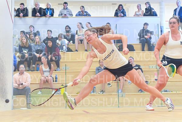 Hamilton College Squash v Middlebury College 11-16-19