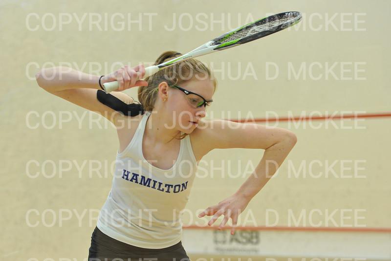 11/16/19 3:14:00 PM Squash:  Middlebury College v Hamilton College at Little Squash Center, Hamilton College, Clinton, NY<br /> <br /> Photo by Josh McKee