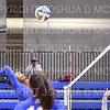 Hamilton College middle blocker Kendall Boxe (4)<br /> <br /> 9/20/19 7:05:48 PM Women's Volleyball:  Cazenovia College vs Hamilton College, at Margaret Bundy Scott Field House, Hamilton College, Clinton, NY<br /> <br /> Final: Cazenovia 0   Hamilton 3<br /> <br /> Photo by Josh McKee