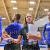 Hamilton College head coach Kristin Baker<br /> <br /> 9/20/19 6:51:03 PM Women's Volleyball:  Cazenovia College vs Hamilton College, at Margaret Bundy Scott Field House, Hamilton College, Clinton, NY<br /> <br /> Final: Cazenovia 0   Hamilton 3<br /> <br /> Photo by Josh McKee