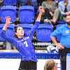 Hamilton College setter Deirdre Corrigan (7)<br /> <br /> 9/20/19 6:55:34 PM Women's Volleyball:  Cazenovia College vs Hamilton College, at Margaret Bundy Scott Field House, Hamilton College, Clinton, NY<br /> <br /> Final: Cazenovia 0   Hamilton 3<br /> <br /> Photo by Josh McKee