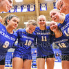 Team<br /> <br /> 9/20/19 7:04:20 PM Women's Volleyball:  Cazenovia College vs Hamilton College, at Margaret Bundy Scott Field House, Hamilton College, Clinton, NY<br /> <br /> Final: Cazenovia 0   Hamilton 3<br /> <br /> Photo by Josh McKee