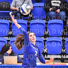 Hamilton College setter Deirdre Corrigan (7)<br /> <br /> 9/20/19 6:56:10 PM Women's Volleyball:  Cazenovia College vs Hamilton College, at Margaret Bundy Scott Field House, Hamilton College, Clinton, NY<br /> <br /> Final: Cazenovia 0   Hamilton 3<br /> <br /> Photo by Josh McKee