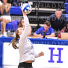 Hamilton College opposite hitter Giuliana Rankin (11)<br /> <br /> 9/27/19 8:29:02 PM Women's Volleyball:  Williams College vs Hamilton College, at Margaret Bundy Scott Field House, Hamilton College, Clinton, NY<br /> <br /> Final: Willliams 3  Hamilton 0<br /> <br /> Photo by Josh McKee