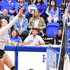 Hamilton College opposite hitter Giuliana Rankin (11)<br /> <br /> 9/27/19 8:28:41 PM Women's Volleyball:  Williams College vs Hamilton College, at Margaret Bundy Scott Field House, Hamilton College, Clinton, NY<br /> <br /> Final: Willliams 3  Hamilton 0<br /> <br /> Photo by Josh McKee