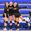 Hamilton College setter Deirdre Corrigan (7), Hamilton College setter Emma Parkhurst (5), Hamilton College S/DS Sophia Bernstein (3)<br /> <br /> 9/27/19 7:28:21 PM Women's Volleyball:  Williams College vs Hamilton College, at Margaret Bundy Scott Field House, Hamilton College, Clinton, NY<br /> <br /> Final: Willliams 3  Hamilton 0<br /> <br /> Photo by Josh McKee