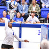 Hamilton College middle blocker Kendall Boxe (4)<br /> <br /> 9/27/19 8:28:11 PM Women's Volleyball:  Williams College vs Hamilton College, at Margaret Bundy Scott Field House, Hamilton College, Clinton, NY<br /> <br /> Final: Willliams 3  Hamilton 0<br /> <br /> Photo by Josh McKee