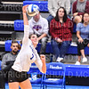 Hamilton College setter Deirdre Corrigan (7)<br /> <br /> 9/27/19 8:30:14 PM Women's Volleyball:  Williams College vs Hamilton College, at Margaret Bundy Scott Field House, Hamilton College, Clinton, NY<br /> <br /> Final: Willliams 3  Hamilton 0<br /> <br /> Photo by Josh McKee