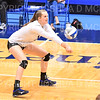 Hamilton College opposite hitter Giuliana Rankin (11)<br /> <br /> 9/27/19 8:26:51 PM Women's Volleyball:  Williams College vs Hamilton College, at Margaret Bundy Scott Field House, Hamilton College, Clinton, NY<br /> <br /> Final: Willliams 3  Hamilton 0<br /> <br /> Photo by Josh McKee