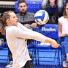Hamilton College opposite hitter Giuliana Rankin (11)<br /> <br /> 9/27/19 8:27:52 PM Women's Volleyball:  Williams College vs Hamilton College, at Margaret Bundy Scott Field House, Hamilton College, Clinton, NY<br /> <br /> Final: Willliams 3  Hamilton 0<br /> <br /> Photo by Josh McKee
