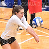 Hamilton College setter Deirdre Corrigan (7)<br /> <br /> 9/27/19 8:28:47 PM Women's Volleyball:  Williams College vs Hamilton College, at Margaret Bundy Scott Field House, Hamilton College, Clinton, NY<br /> <br /> Final: Willliams 3  Hamilton 0<br /> <br /> Photo by Josh McKee
