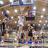Hamilton College guard Elliott Tirbaso (13)<br /> <br /> 11/20/19 9:34:17 PM Men's Basketball:  Bard College v Hamilton College at Margaret Bundy Scott Field House, Hamilton College, Clinton, NY<br /> <br /> Final:  Bard 57   Hamilton 101<br /> <br /> Photo by Josh McKee