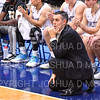 Hamilton College head coach Adam Stockwell<br /> <br /> 11/20/19 9:29:41 PM Men's Basketball:  Bard College v Hamilton College at Margaret Bundy Scott Field House, Hamilton College, Clinton, NY<br /> <br /> Final:  Bard 57   Hamilton 101<br /> <br /> Photo by Josh McKee