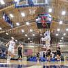 Hamilton College guard Nkosi Cooper (30)<br /> <br /> 11/20/19 9:26:30 PM Men's Basketball:  Bard College v Hamilton College at Margaret Bundy Scott Field House, Hamilton College, Clinton, NY<br /> <br /> Final:  Bard 57   Hamilton 101<br /> <br /> Photo by Josh McKee
