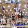 Hamilton College guard Elliott Tirbaso (13)<br /> <br /> 11/20/19 9:54:16 PM Men's Basketball:  Bard College v Hamilton College at Margaret Bundy Scott Field House, Hamilton College, Clinton, NY<br /> <br /> Final:  Bard 57   Hamilton 101<br /> <br /> Photo by Josh McKee