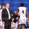 Hamilton College head coach Adam Stockwell<br /> <br /> 11/20/19 8:45:18 PM Men's Basketball:  Bard College v Hamilton College at Margaret Bundy Scott Field House, Hamilton College, Clinton, NY<br /> <br /> Final:  Bard 57   Hamilton 101<br /> <br /> Photo by Josh McKee