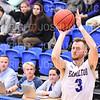 Hamilton College guard Mark Lutz (3)<br /> <br /> 11/20/19 9:42:04 PM Men's Basketball:  Bard College v Hamilton College at Margaret Bundy Scott Field House, Hamilton College, Clinton, NY<br /> <br /> Final:  Bard 57   Hamilton 101<br /> <br /> Photo by Josh McKee