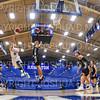 Hamilton College guard Vince Conn (0)<br /> <br /> 11/20/19 8:48:21 PM Men's Basketball:  Bard College v Hamilton College at Margaret Bundy Scott Field House, Hamilton College, Clinton, NY<br /> <br /> Final:  Bard 57   Hamilton 101<br /> <br /> Photo by Josh McKee