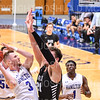 Hamilton College guard Mark Lutz (3)<br /> <br /> 11/20/19 9:31:47 PM Men's Basketball:  Bard College v Hamilton College at Margaret Bundy Scott Field House, Hamilton College, Clinton, NY<br /> <br /> Final:  Bard 57   Hamilton 101<br /> <br /> Photo by Josh McKee